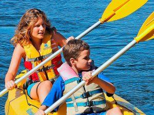 Uma aventura de Kayak